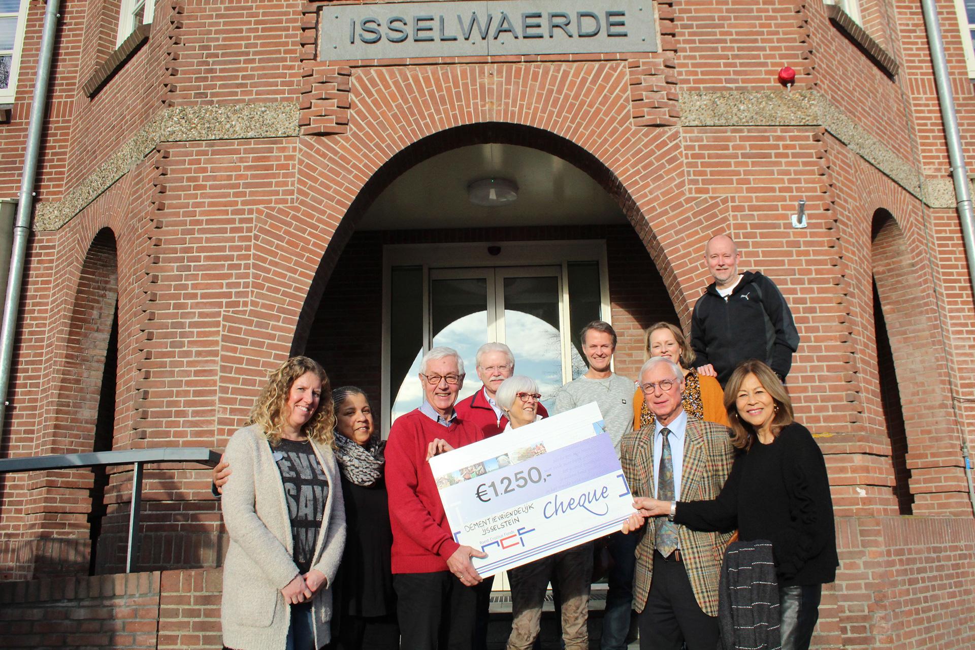 IJF cheque Dementievriendelijk IJsselstein